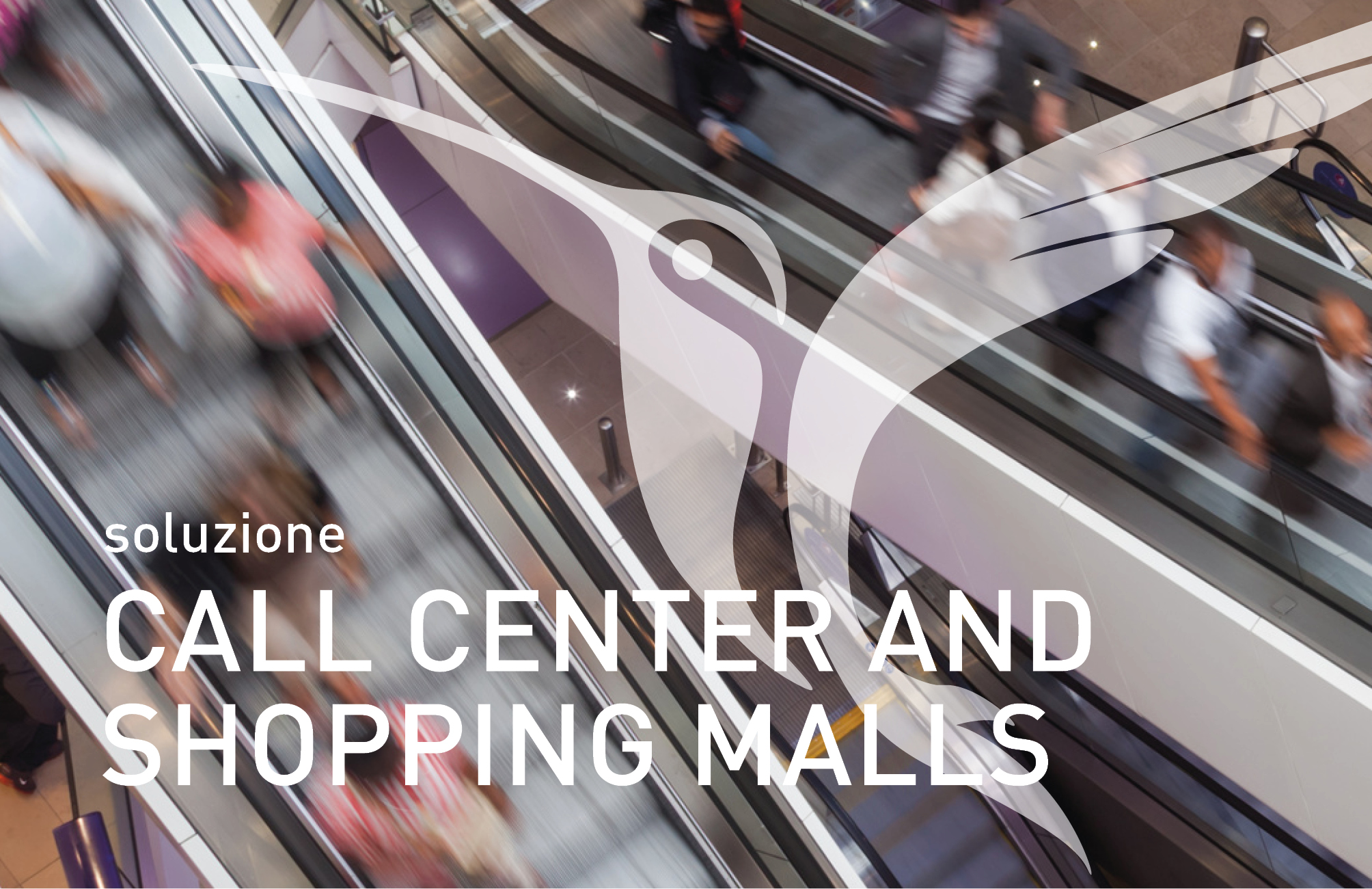 call center and shopping malls